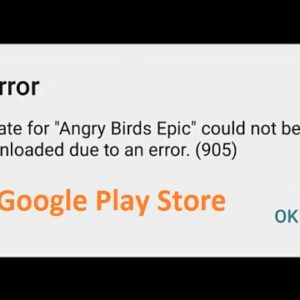 3+ Fixes For Error 905 In The Google Play Store | App Not Downloading Issues