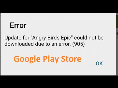 3+ Fixes For Error 905 In The Google Play Store | App Not