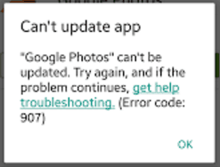 3+ Fixes For The Fix Error Code 907 In The Google Play Store - The