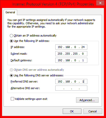 no valid ip configuration windows 10 ethernet