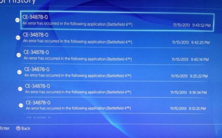 How To Fix PS4 Error Code CE-34878-0 - The Error Code Pros