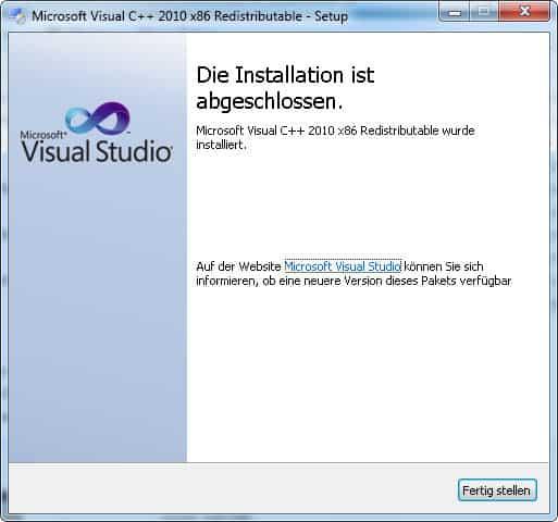 download visual c++ 2008