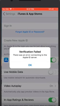 6 Fixes For \u201cThere Was An Error Connecting To The Apple ID Server