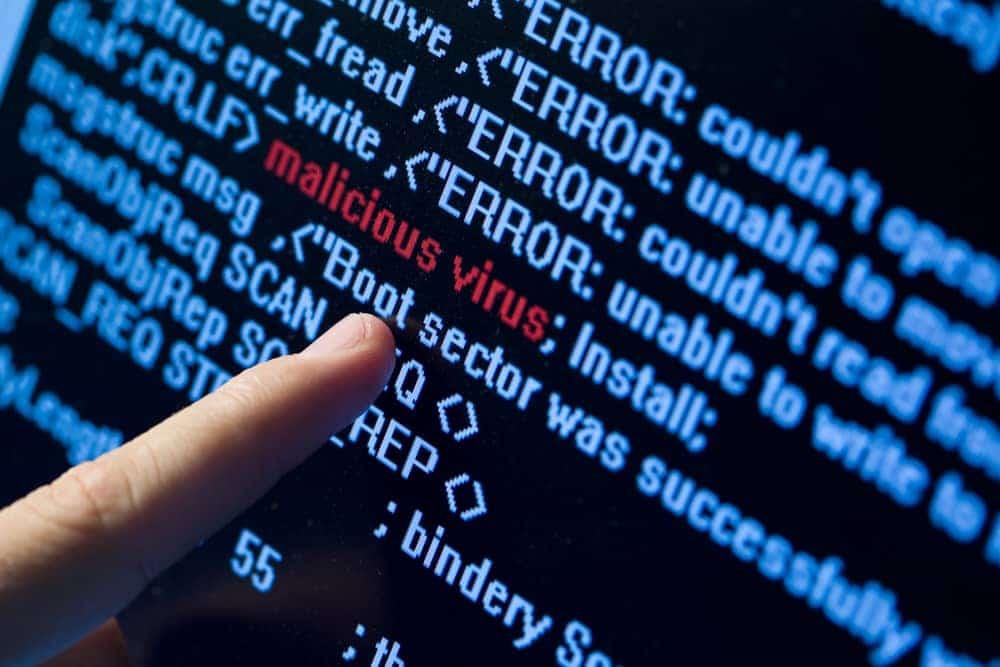 computer virus example