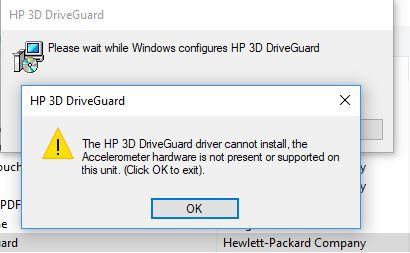 HP Accelerometer