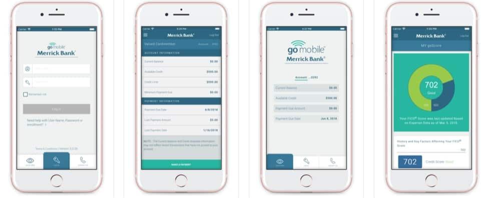 merrick bank apps