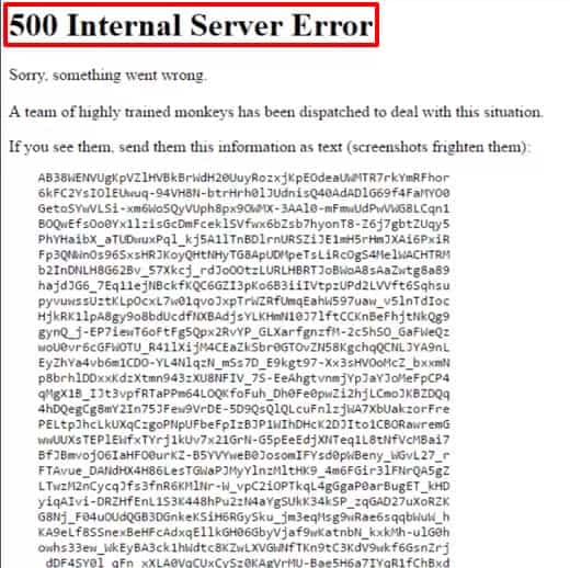 Fix 500 Internal Server Error Youtube Sorry something went wrong in chrome YouTube