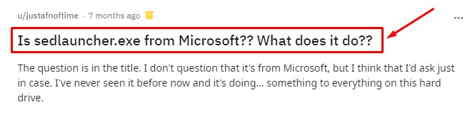 is_sedlauncherexe_from_microsoft_what_does_it_do