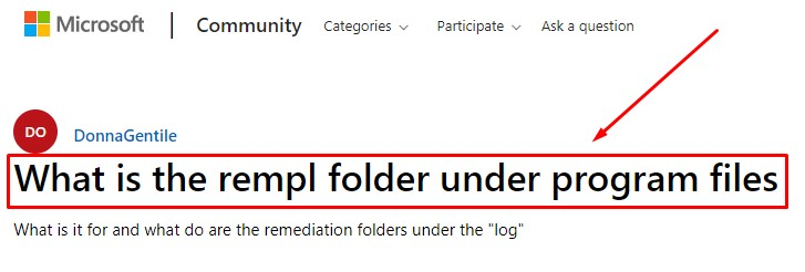 what-is-the-rempl-folder-under-program-files
